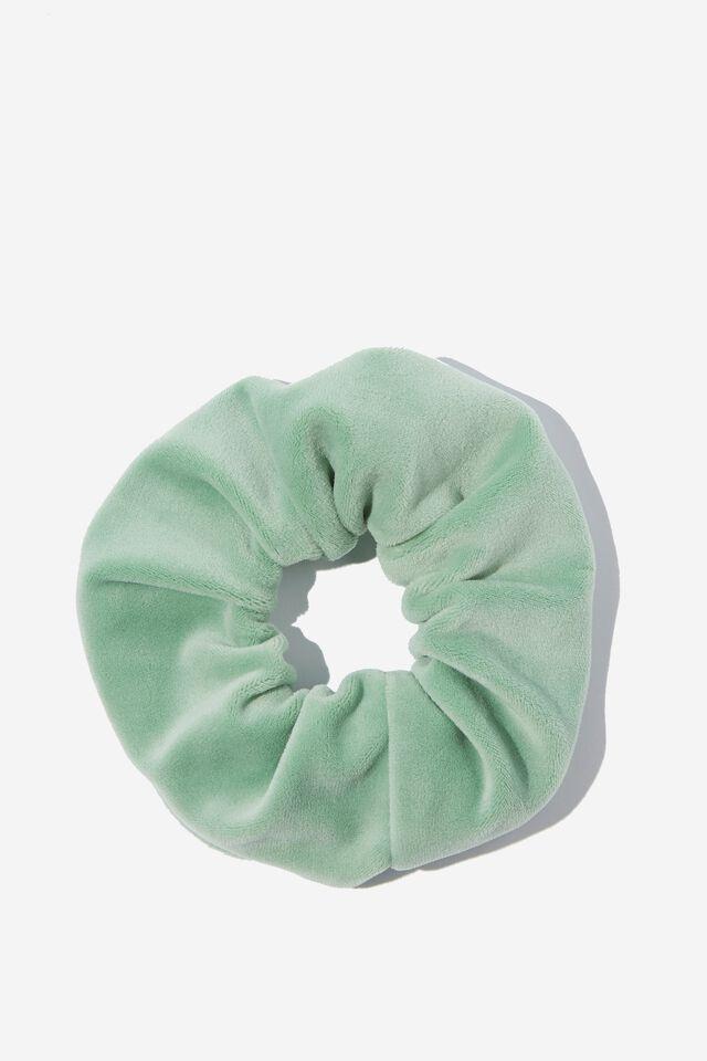 Brushed Scrunchie, CUCUMBER GREEN