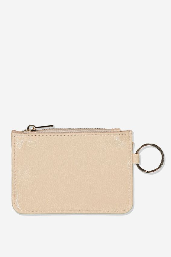 Harper Mini Purse, SAND PEBBLE