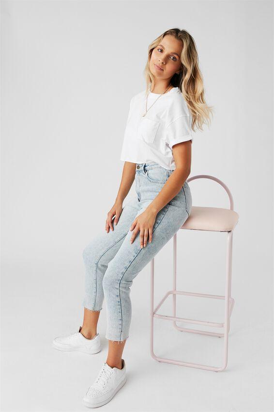Slim Straight Jean, CALIFORNIA BLUE
