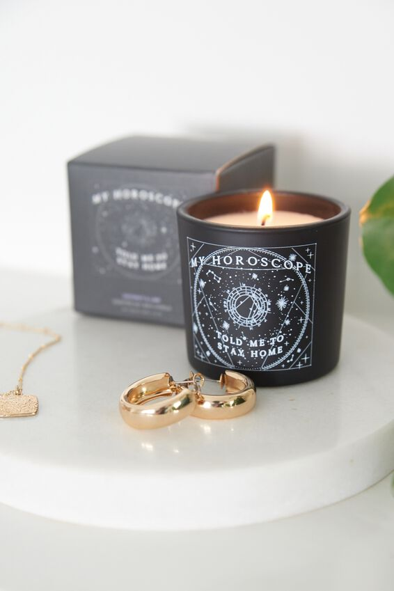 Coconut & Lime Mini Candle, COCONUT & LIME/HOROSCOPE