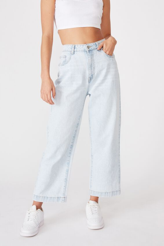 Wide Leg Jean, SALT LAKE BLUE