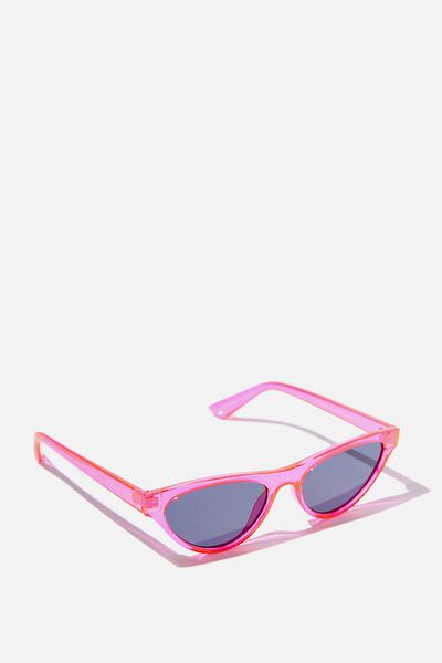Dakota Cat Eye Sunglasses, PINK/SMK