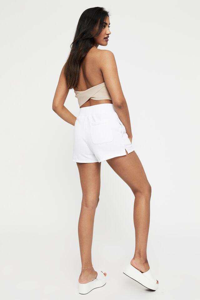 Florida Sporty Short, WHITE