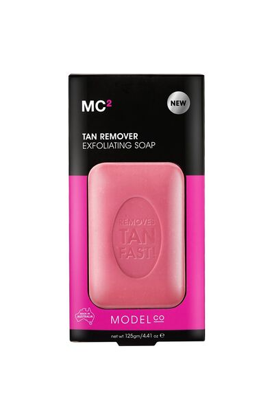 ModelCo Tan Remover Exfoliating Soap 125g, NATURAL TAN