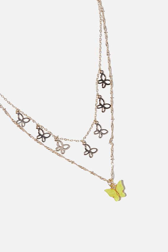 Necklace, MINI BUTTERFLY