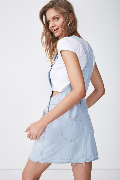 The Denim Pinafore, SUPER BLEACH