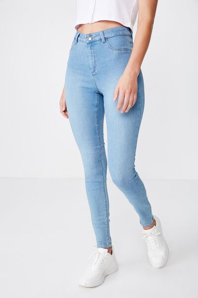 Super Skinny Jean, WAVE BLUE