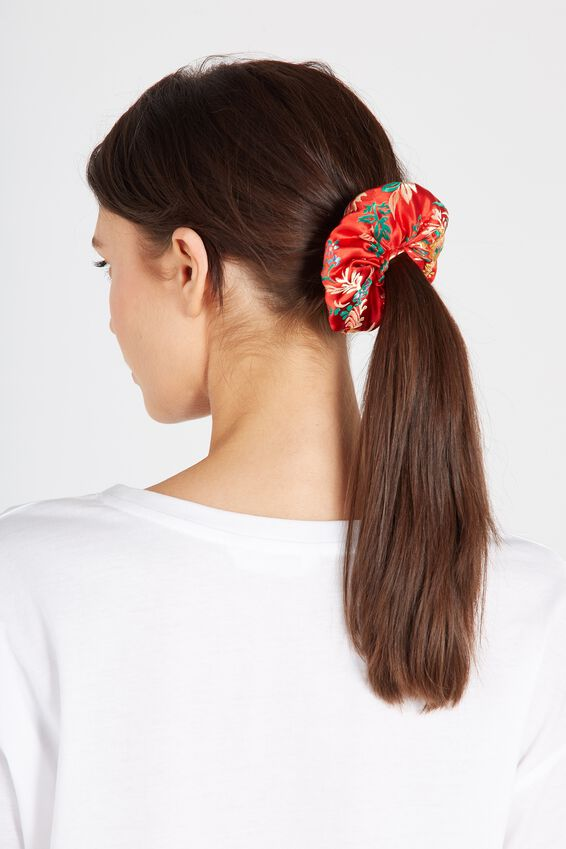 Red Oriental Scrunchie at Supre in Broadmeadows, VIC | Tuggl