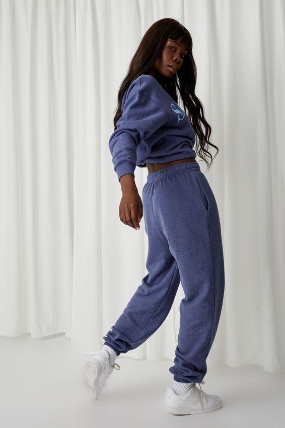 Alexandra Boyfriend Track Pant, POLO BLUE/SAN DIEGO