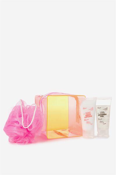 Cube Shower Gift Set, NEON