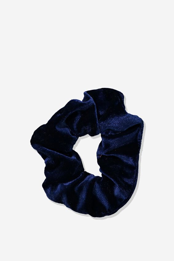 Scrunchie, PLUSH NAVY