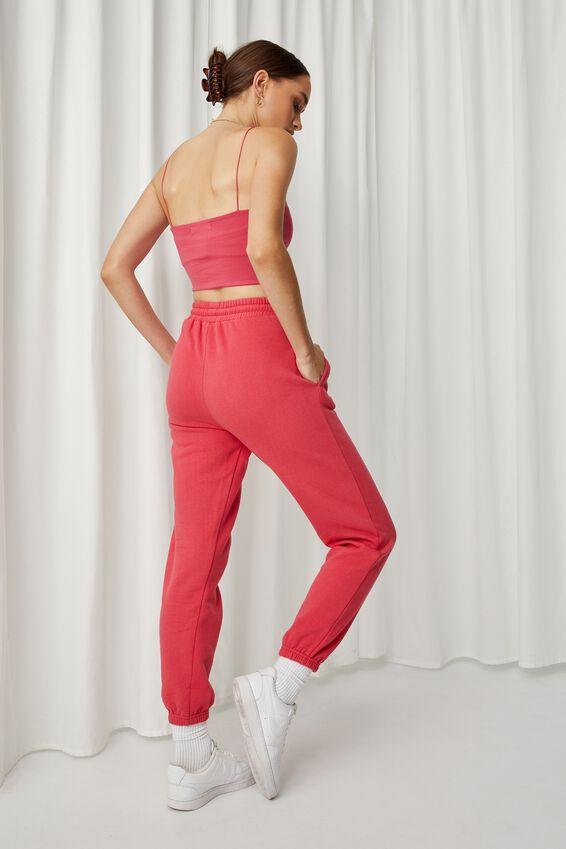 Nia Classic Track Pant, RETRO RED