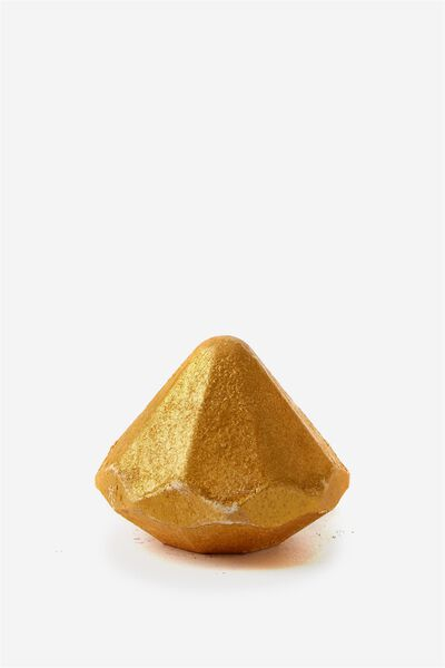 Diamond Bath Fizzers, GOLD GLITTER