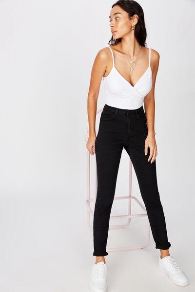 Super Skinny Jean, BLACK