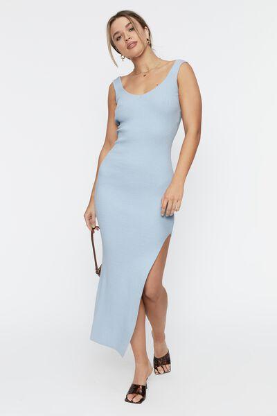 Jacinta Low Back Maxi Dress, HORIZON BLUE