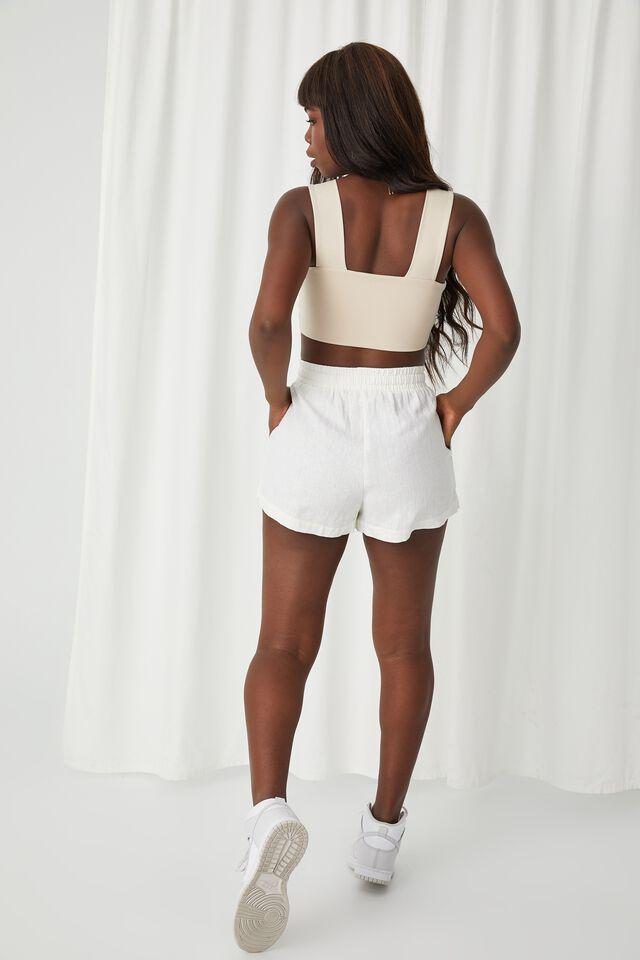 Hana Pull On Short, WHITE