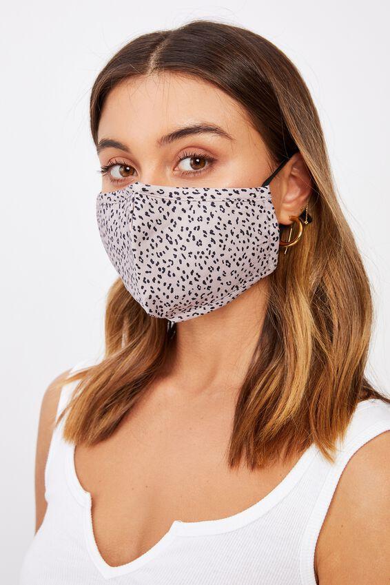 Supre Foundation Face Mask, GEORGIE LEOPARD
