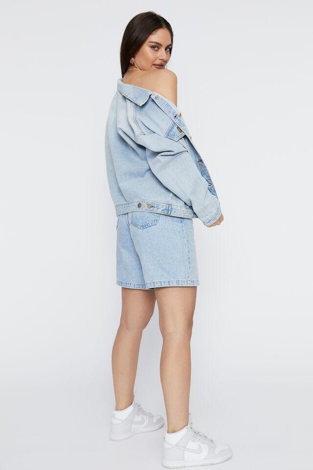 80S Denim Jacket, STUNNING BLUE