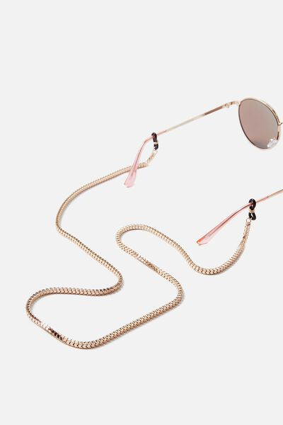 Sunglasses Chain, GOLD