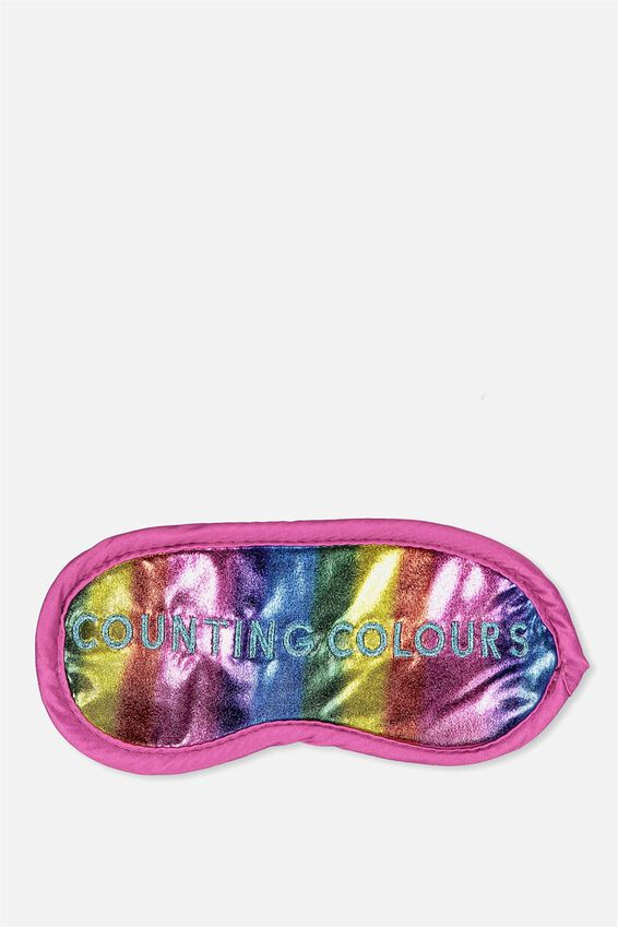 Sleep Mask, COUNTING COLOURS