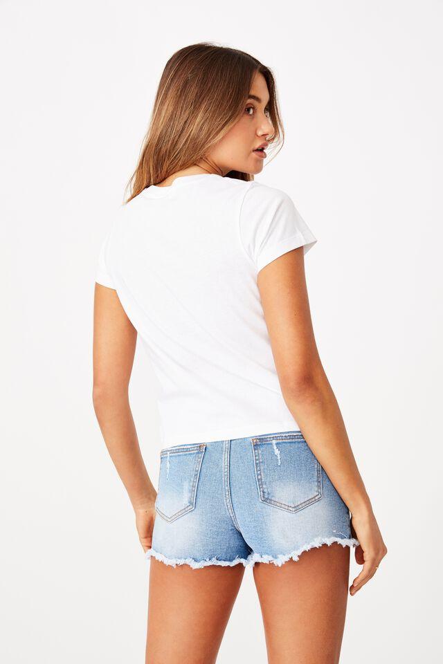 Classic T Shirt, WHITE