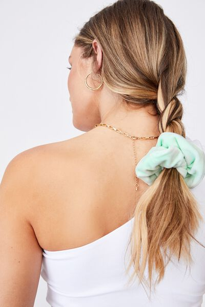 Brushed Scrunchie, DREAM MINT