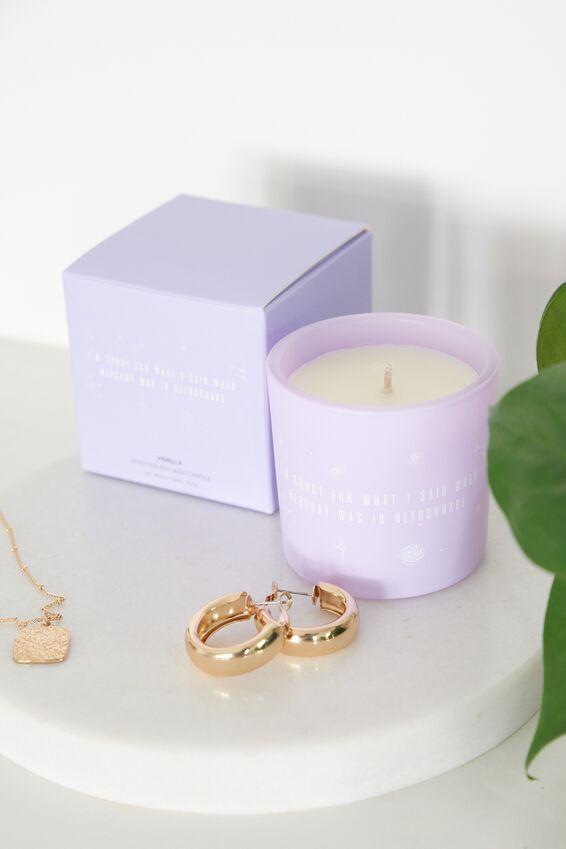 Vanilla Mini Candle, VANILLA/RETROGRADE