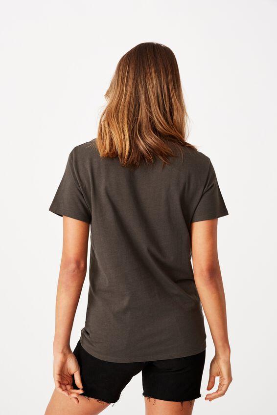 Kendall Printed T Shirt, PHANTOM/AALIYAH PORTRAIT