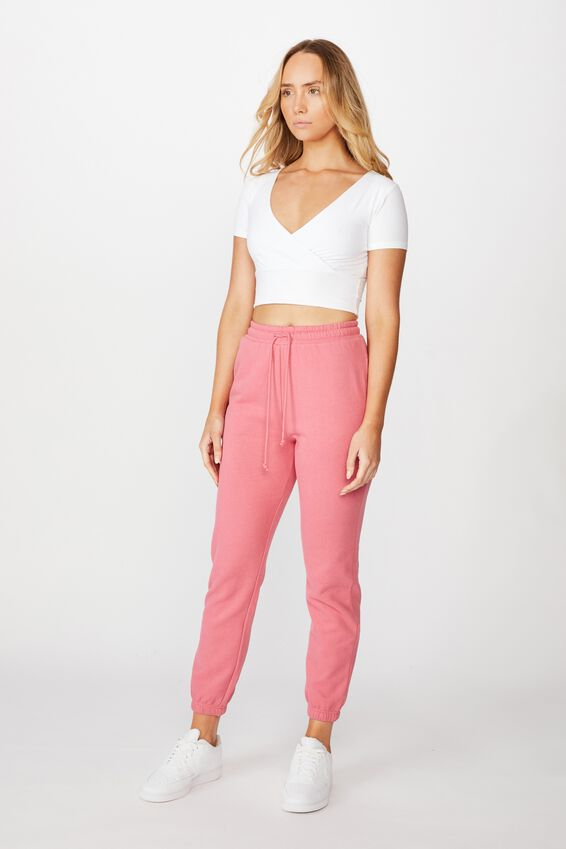 Classic Track Pants, VINTAGE ROSE