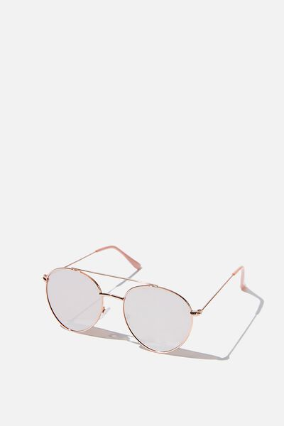 Phoenix Topbar Sunglasses, ROSE GOLD/SILVER