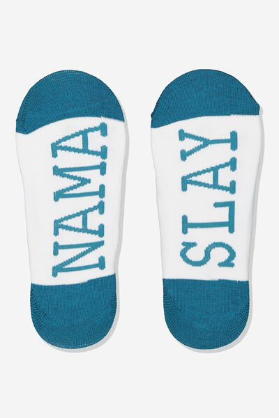 Low Cut Socks, NAMA SLAY