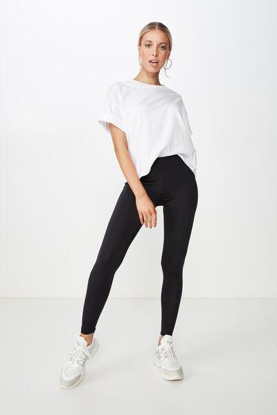 Chantel Fashion Legging, BLACK LUXE