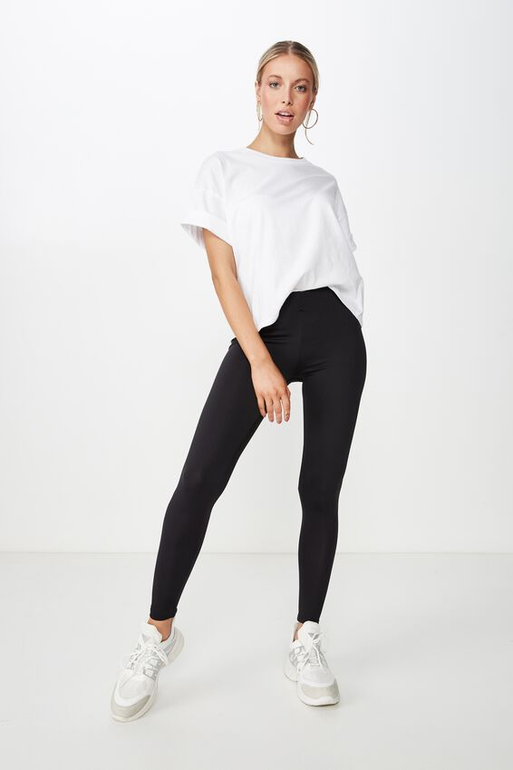 Luxe Fashion Legging, BLACK LUXE