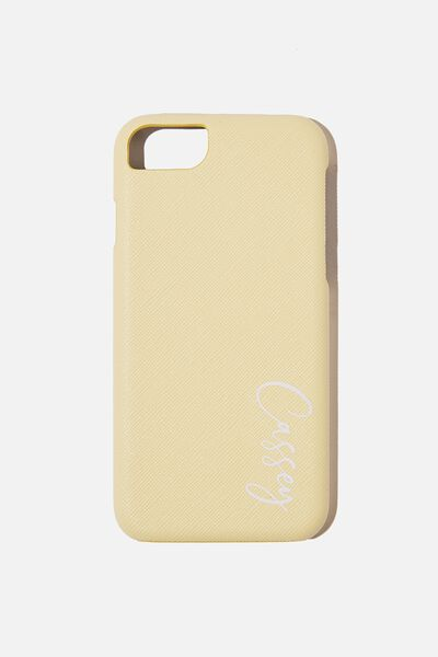 Personalised Phone Covers, 6/7/8 LEMON TEXTURE