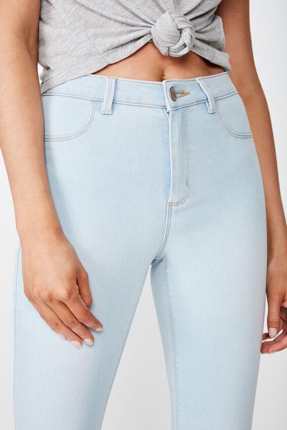 Super Skinny Jean, BLEACH BLUE