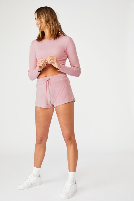 Super Soft Short Shorts, BLOSSOM PINK