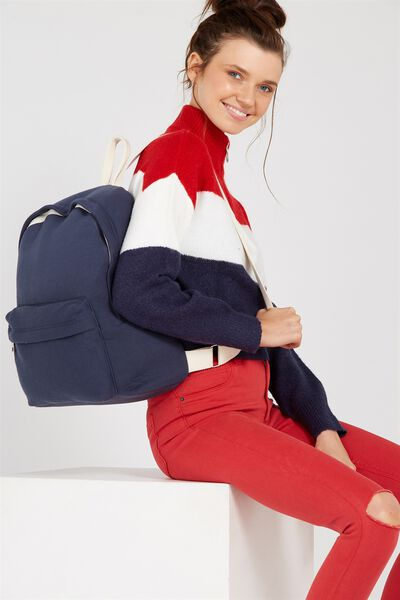 Jersey Backpack, NAVY