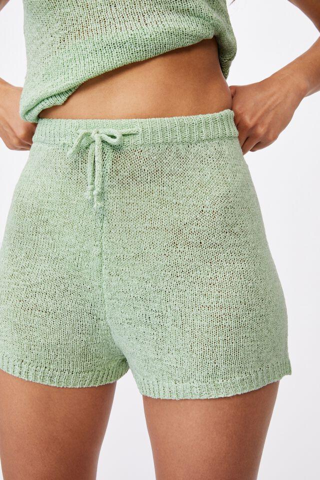 Lindsey Knit Short, MINTY GREEN