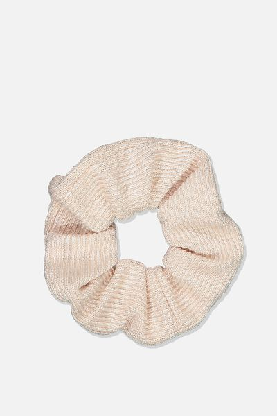 Knit Scrunchie, LIGHT PINK