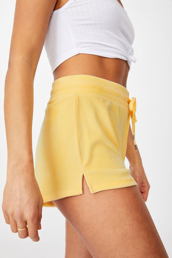 Super Soft Short Shorts, BLEACHED LEMON