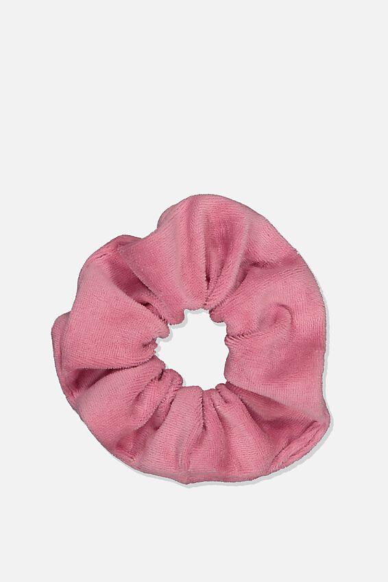 Brushed Scrunchie, ANTIQUE ROSE