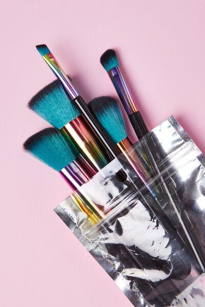 Makeup Brushes, RAINBOW SLICK