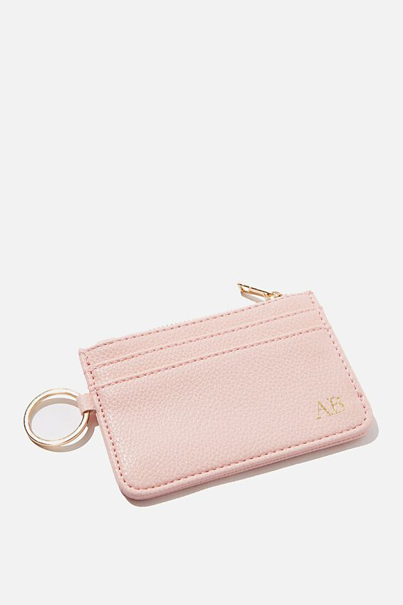 Personalised Harper Mini Purse, PINK