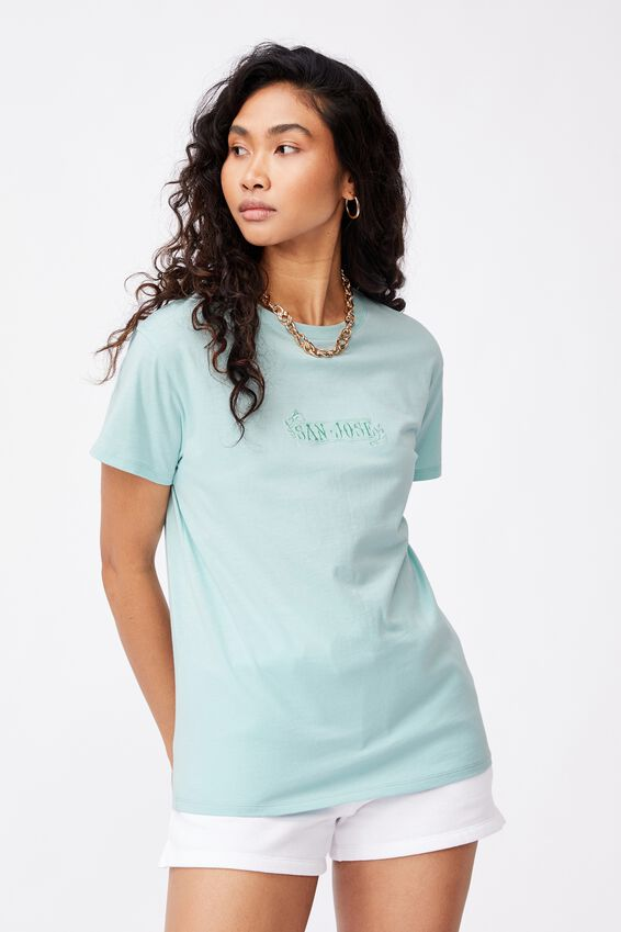San Jose Tee, REEF BLUE/SAN JOSE