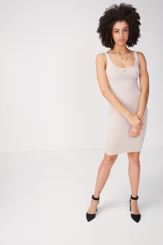 Party Scoop Neck Midi Dress | Tuggl