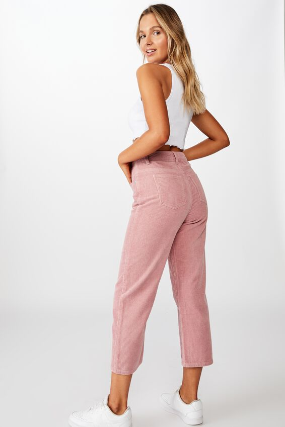 Charlee Cord Wide Leg Pant, ANTIQUE ROSE