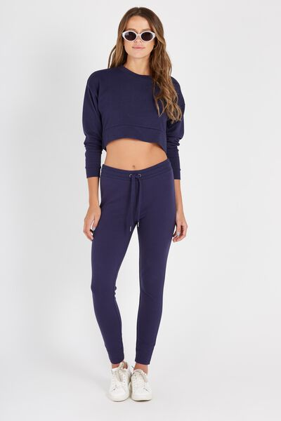 Track Legging, NAVY