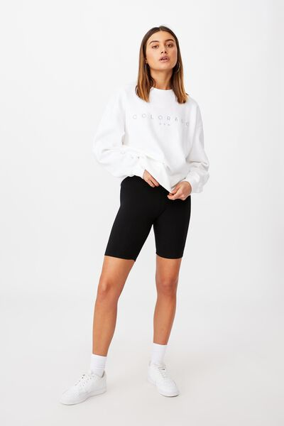 Mimi Bike Short, BLACK