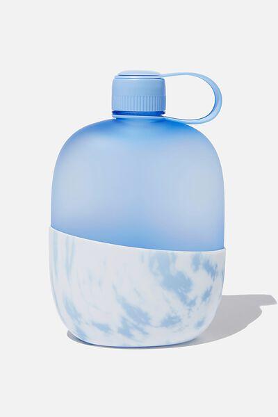 Weekend Drink Bottle, BLUE/TIE DYE