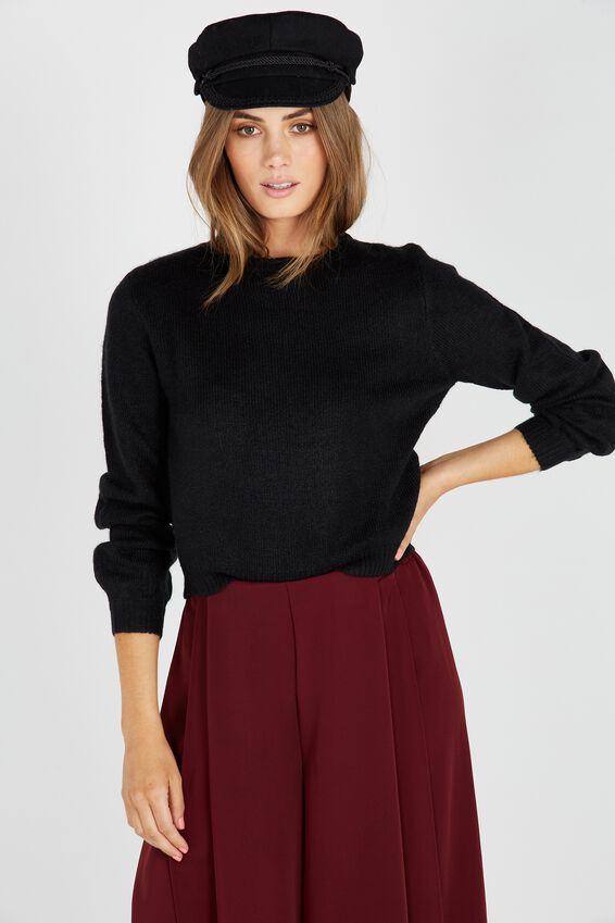 Clara Cosy Bell Sleeve Knit Top | Tuggl